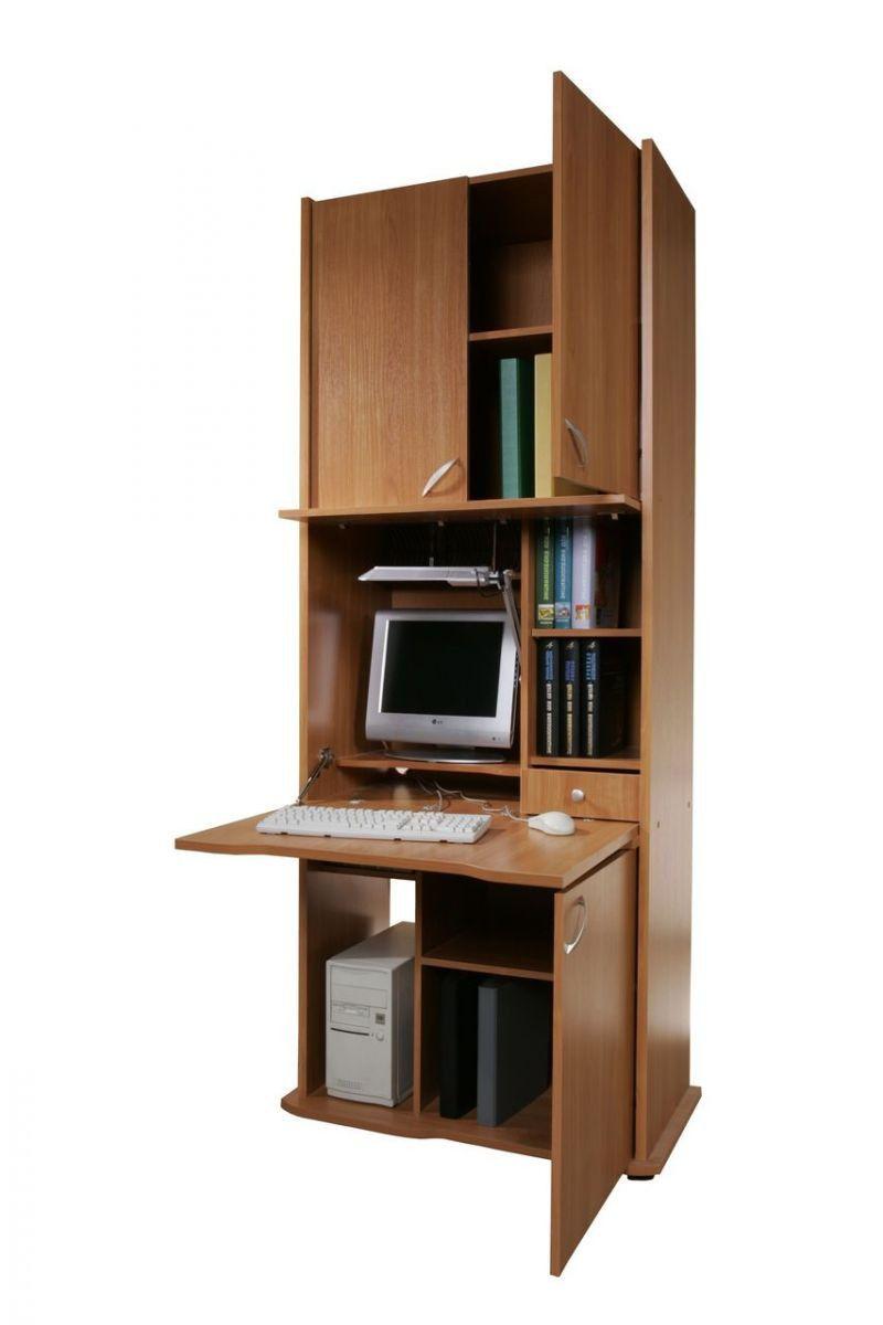 Цена на секретер ск-001 с местом для компьютера (цвет: молоч.